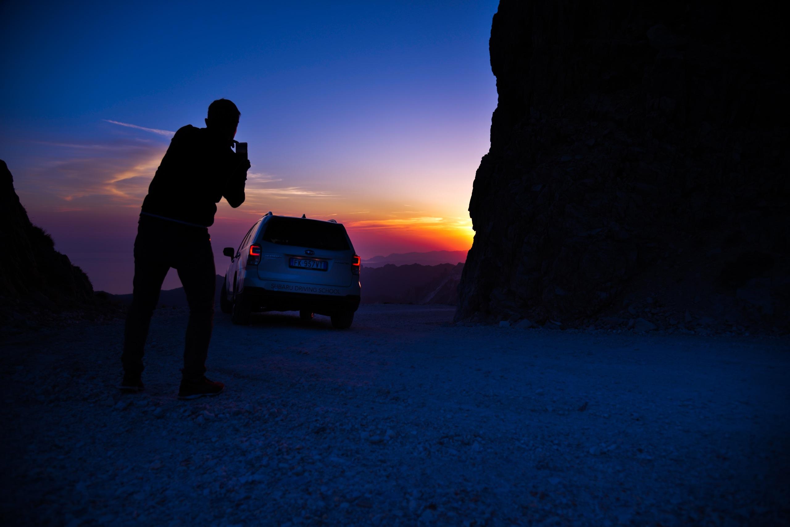 l'ultimo raggio di sole prima del buio - ©lr